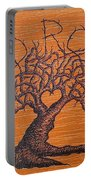 Red Rocks Love Tree Portable Battery Charger