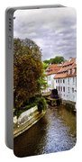 Red Roofs Of Prague - 2015 Portable Battery Charger