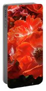 Red Roses Botanical Landscape 1 Red Rose Giclee Prints Baslee Troutman Portable Battery Charger