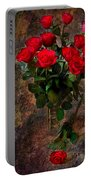Red Roses Portable Battery Charger
