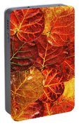 Red Sea Grapes By Sharon Cummings Portable Battery Charger