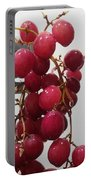 Red Seedless Grape Cluster Portable Battery Charger