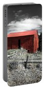 Red Shack Landscape Portable Battery Charger