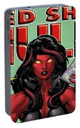 Red She-hulk Portable Battery Charger