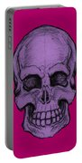 Purple Skull Portable Battery Charger