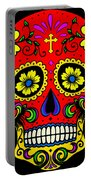 Red Skull Portable Battery Charger