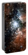 Red Smoke Star Cluster Portable Battery Charger