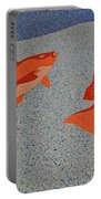 Red Snapper Inlay On Alabama Welcome Center Floor Portable Battery Charger