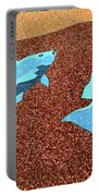 Red Snapper Inlay Sunny Day Invert Portable Battery Charger