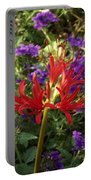 Red Spider Lily Portable Battery Charger