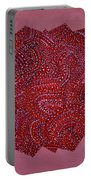 Red Spiral Portable Battery Charger