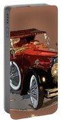 Red Stutz Portable Battery Charger