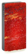 Red Surf On The Beach Portable Battery Charger