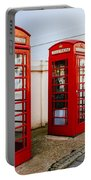 Red Telephone Booths London Portable Battery Charger