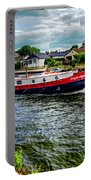 Red Tug Boat Portable Battery Charger