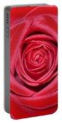 Red Velvet Rose Portable Battery Charger