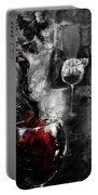 Red Wine 01 Portable Battery Charger