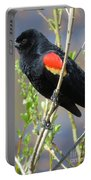 Red-winged Perch Portable Battery Charger