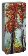 Red Woods Portable Battery Charger