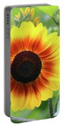 Red Yellow Sunflower Portable Battery Charger