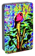 Redbird Dreaming About Why Love Is Always Important Portable Battery Charger