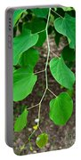 Redbud Green Portable Battery Charger