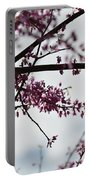 Redbuds In The Mist Portable Battery Charger
