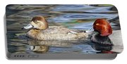 Redhead Duck Pair Portable Battery Charger