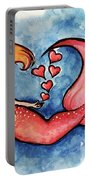 Redhead Mermaid Portable Battery Charger