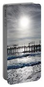 Redondo Beach Pier Sunset Onset Portable Battery Charger