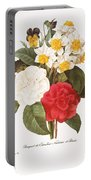 Redoute: Bouquet, 1833 Portable Battery Charger