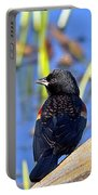 Redwinged Blackbird Portable Battery Charger