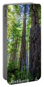 Redwoods National Forrest Trees Of Mistery Portable Battery Charger