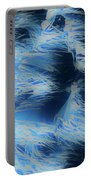 Reeds In Blue Portable Battery Charger