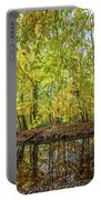 Reflected Color Of Autumn Portable Battery Charger