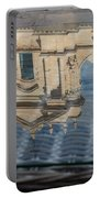 Reflecting On Noto Cathedral Saint Nicholas Of Myra - Sicily Italy Portable Battery Charger