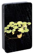 Reflecting Pool Lilies Portable Battery Charger