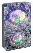 Reflecting Spheres In Space Portable Battery Charger