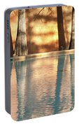 Reflecting Trees Portable Battery Charger