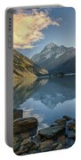 Reflection Of Aoraki Portable Battery Charger