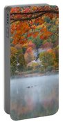 Reflection Of Fall Portable Battery Charger