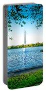 Reflection Of Washington Portable Battery Charger
