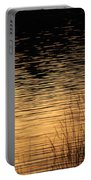 Reflection On A Sunset Portable Battery Charger