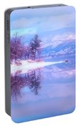 Reflections Along Highway 97 Portable Battery Charger