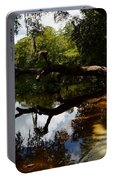 Reflections And Shadows Portable Battery Charger by Warren Thompson