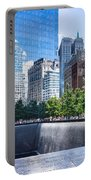 Reflections At 911 Memorial Portable Battery Charger