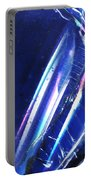 Reflections In Blue Portable Battery Charger