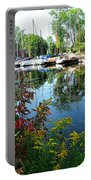 Reflections In The Pool Portable Battery Charger