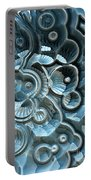 Reflections Of A Fractal Fossil Portable Battery Charger