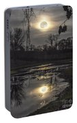 Reflections Of A Super Moon Portable Battery Charger